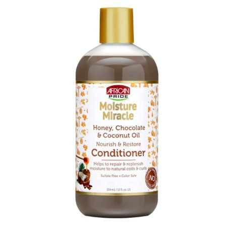 African Pride Moisture Miracle Nourish & Restore Conditioner 354ml