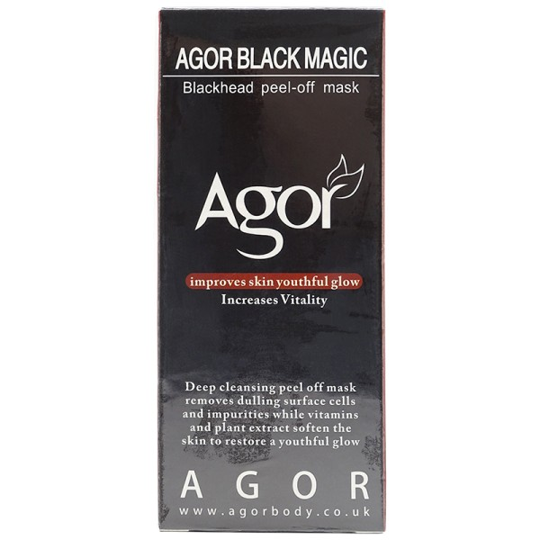 Agor Black Magic Blackhead Peel Off Mask 60ml Maske Gesicht