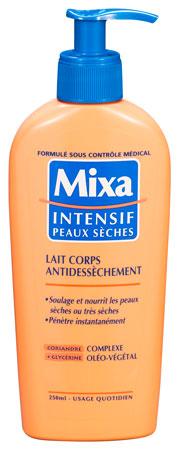 lait corps mixa
