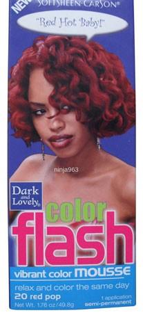 Dark & Lovely Color Flash Vibrant