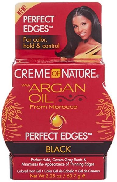 Creme of nture Argan Oil Perfect Edges Black 63,7g