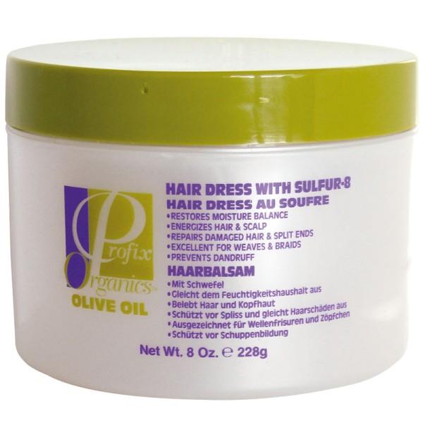 Profix Organics Olive Oil Hair Dress with Sulfur-8 237ml