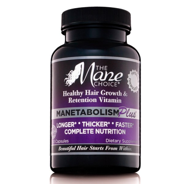 The Mane Choice Healthy Hair Growth & Retention Vitamin Manetabolism Plus 60 Capsules