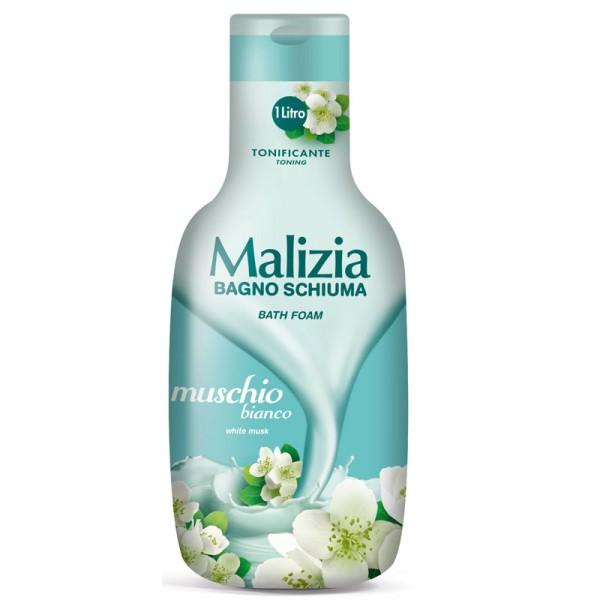 Malizia Bath Foam White Musk 1L