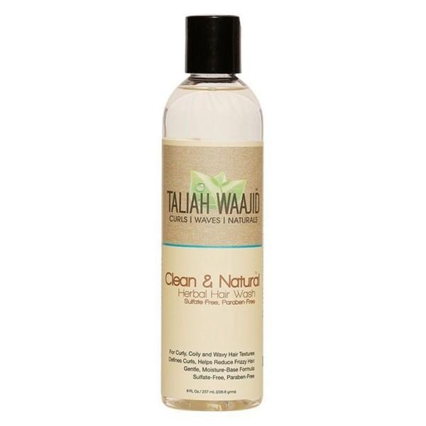 Taliah Waajid Curls Waves and Naturals Clean and Natural Herbal Hair Wash 237ml