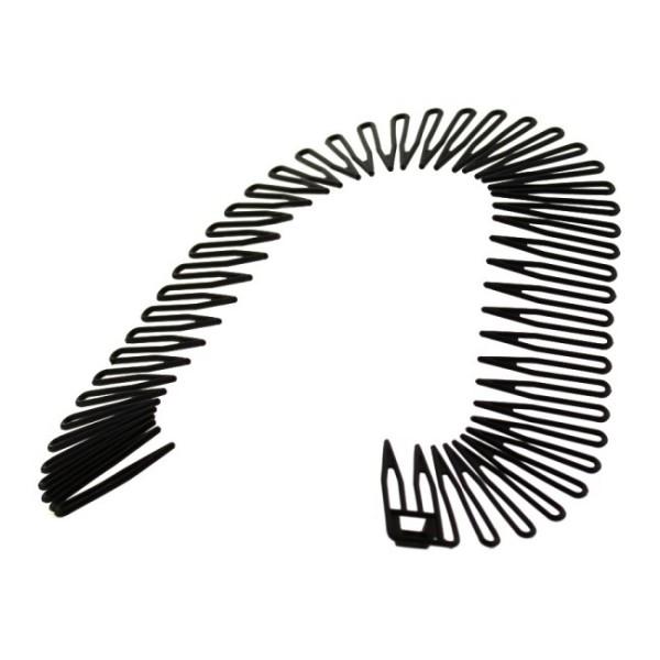 Annie Flexible Hair Comb Black