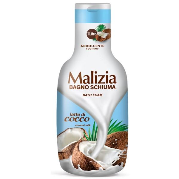Malizia Bath Foam Coconut Milk 1L